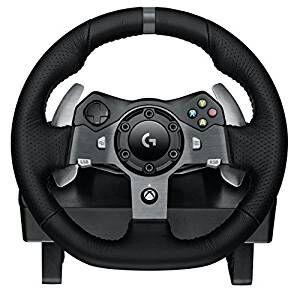 [Prime UK] Volant de course Logitech G920 + Pédalier pour Xbox One et PC