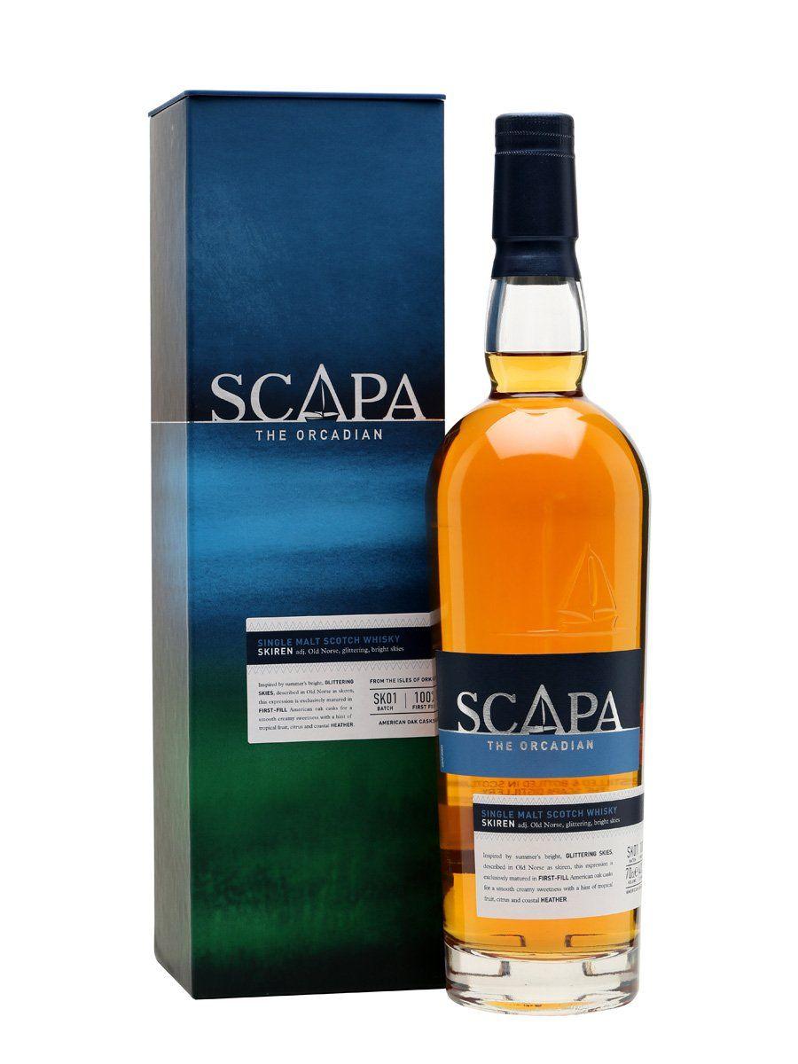 Scapa Skiren Whisky Single Malt  70cl (Carrefour Chambord)