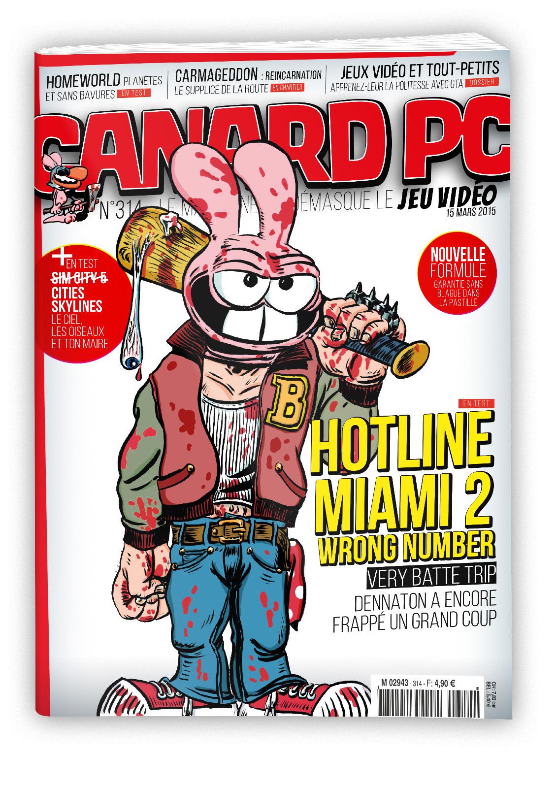 Canard PC n°314 gratuit (en édition numérique)