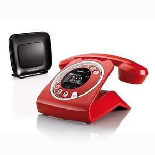 Téléphone sans fil Sagemcom Sixty Everywhere (avec répondeur) - Rouge ou blanc