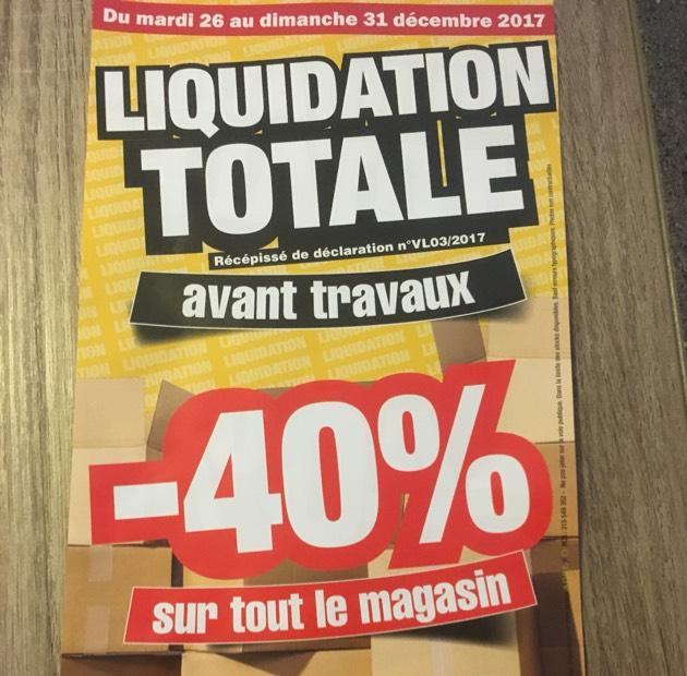40 de r duction sur tout le magasin la foir 39 fouille sainte eulalie 33 - Rideau la foir fouille ...