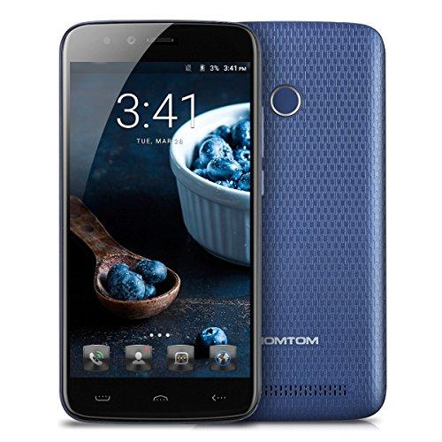"Smartphone 5.5"" HomTom HT50 - MT6737, 3 Go de RAM, 32 Go, bleu (vendeur tiers)"