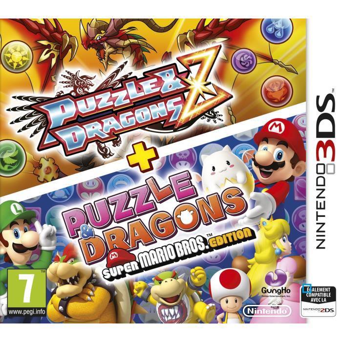 Précommande: Puzzle & Dragon Z + Puzzle Dragons Super Mario Bros Edition pour 3DS