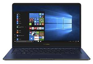 "Asus Zenbook Flip S Ultrabook hybride tactile 13,3"" Full HD Bleu foncé (Intel Core i7, 16 Go de RAM, SSD 256 Go, Intel HD Graphics 620, Windows 10) Clavier Français AZERTY + Stylet + Mini Dock offerts"