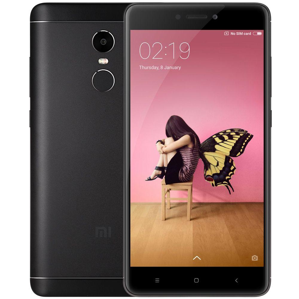 "Smartphone 5.5"" Xiaomi Redmi Note 4X - Snapdragon 625, RAM 3 Go, ROM 32 Go (Sans B20) + 22.50€ en SuperPoints"