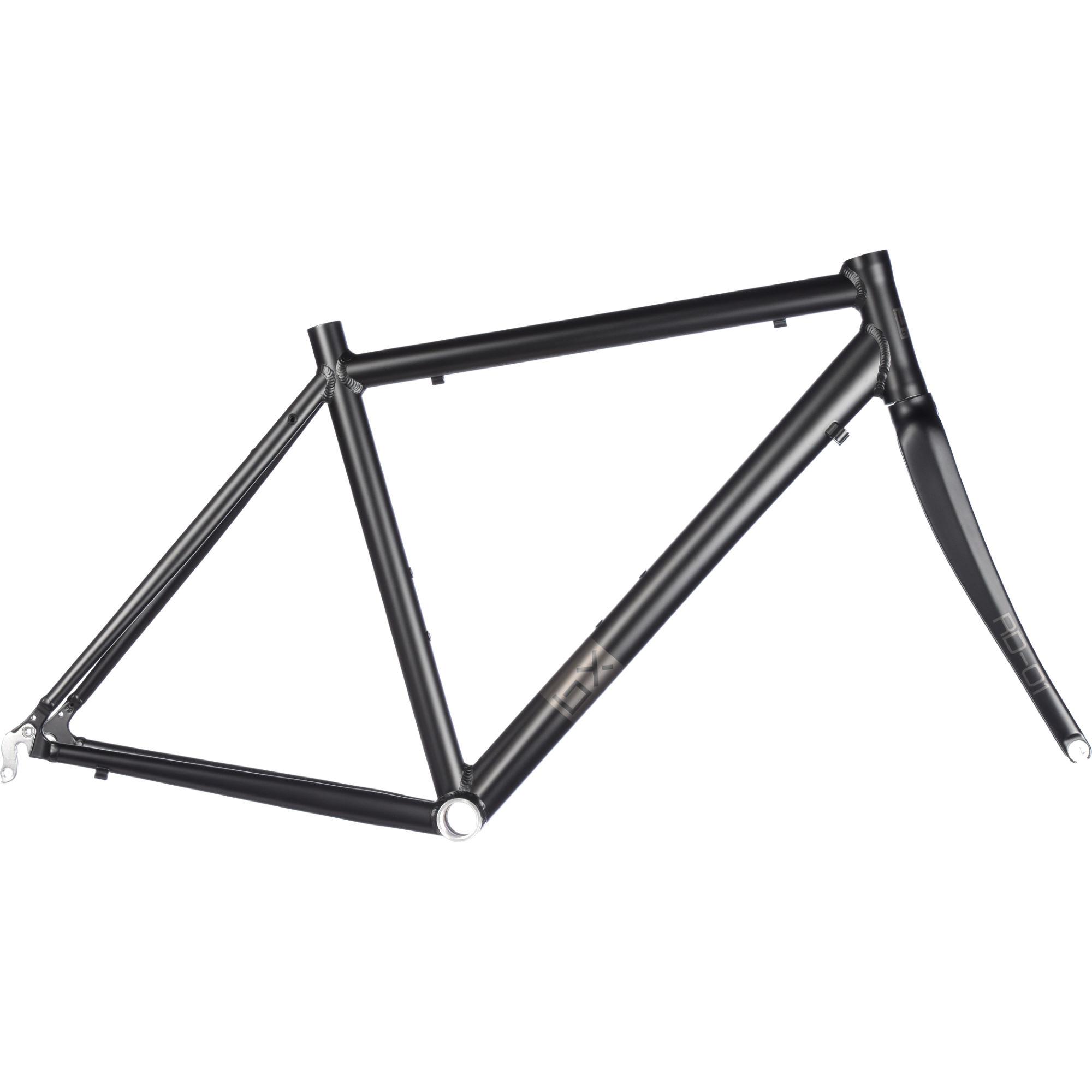 Cadre de vélo de route Brand-X RD-01 - en aluminium, fourche en carbone (du 50 au 58)