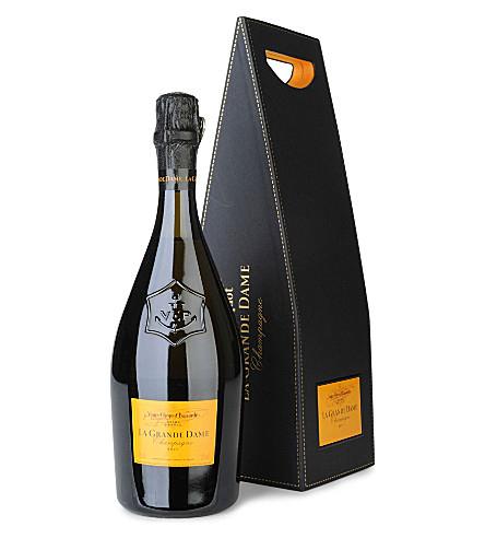 Coffret champagne Veuve Clicquot La Grande Dame au Carrefour Labège (31)
