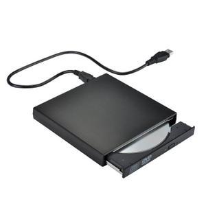 Graveur Lecteur Externe USB 2.0 AISTUO - DVD-R & CD-RW (Compatible avec Windows 2000/XP/Vista/Windows7)