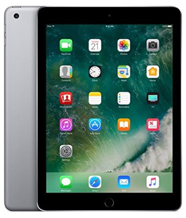 """Tablette 9.7"""" Apple iPad 2017 - 32 Go, WiFi, Argent et noir (239.99€ via code PROMO15)"""