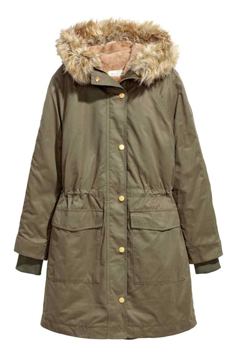 Jusqu'à 40% de réduction sur les blousons et manteaux - Ex : Parka avec veste intérieure