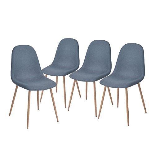 Lot de 4 Chaises design style scandinave (vendeur tiers)