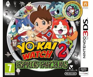 Sélection de jeux vidéo 3DS en promotion - Ex : Yo-kai Watch 2 : Esprits farceurs au Auchan Kirchberg (frontaliers Luxembourg)