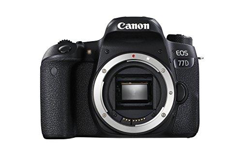 Appareil photo numérique reflex Canon EOS 77D - 24.2 Mpix, CMOS, full HD (via ODR UK de 95.74€)