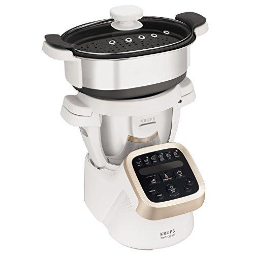 Robot Multifonctions Krups Prep & Cook HP5031 + Accessoire cuisson Vapeur XF552D