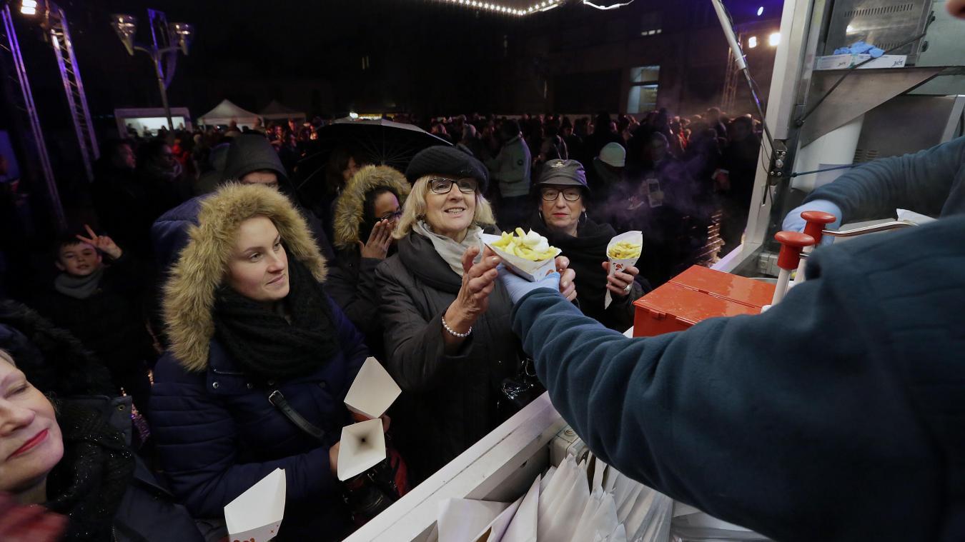 Frites gratuites à Tourcoing le 13/01