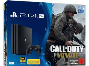 Console Sony PS4 Pro 1 To avec Call of Duty WWII (Frontaliers Allemands)