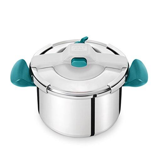 Autocuiseur Clispo Essential Colors Seb Turquoise - 7.5L- Tout feux dont induction