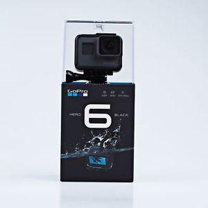 Caméra Embarquée GoPro HERO6 - avec écran LCD, noir (373€ avec le code PROMO15)