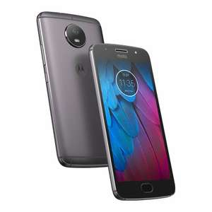 "Smartphone 5.2"" Lenovo Moto G5S Gris - IPS Full HD, Snapdragon 430, RAM 3Go, 32Go, Android 7.1 - (vendeur tiers)"