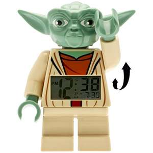 Figurine Réveil Digital LEGO Yoda Star Wars