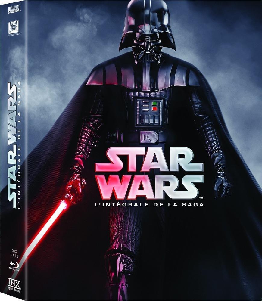 Coffret Blu-ray Star Wars - L'intégrale