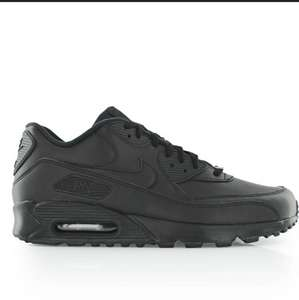 Baskets Nike Air Max 90 Leather Black -  Différentes tailles
