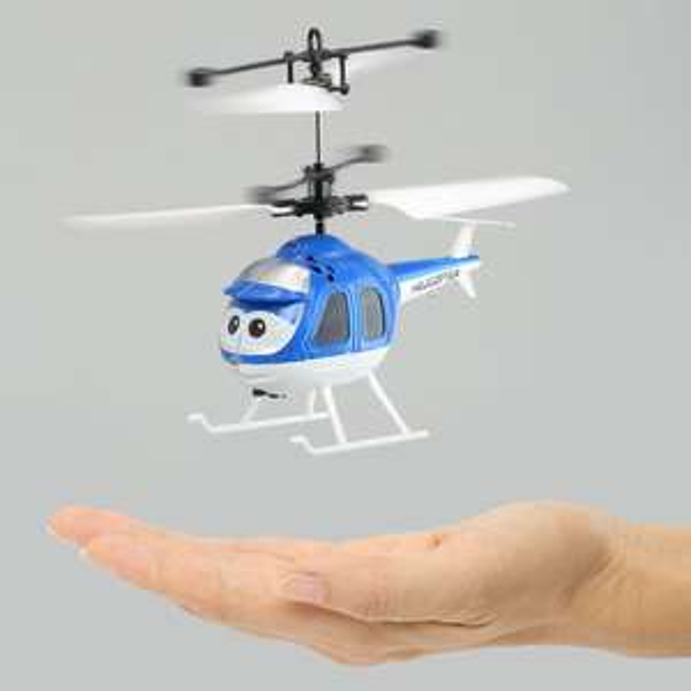 Mini helicoptère en carton