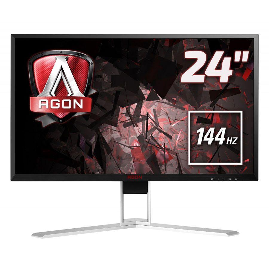 "Écran PC 23.8"" AOC Agon AG241QX - QHD, 2560x1440, FreeSync, 144 Hz"