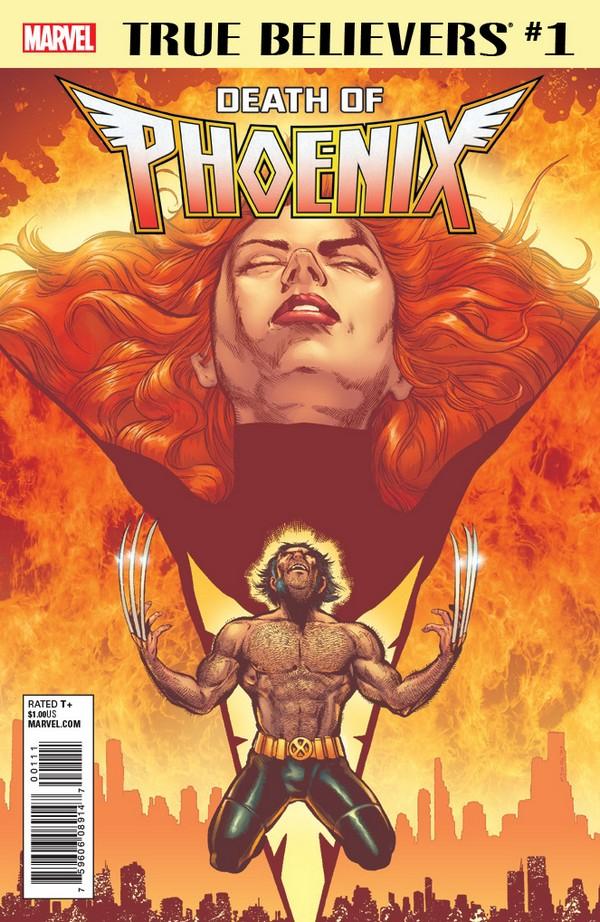 Lot de 4 comics Phoenix Marvel parmi une sélection (en VO) - frais de port inclus