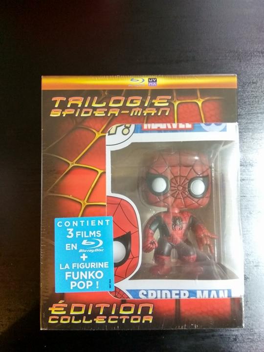 Coffret Blu-ray  Spider-Man Trilogie avec figurine Funko Pop! - Cholet (49)