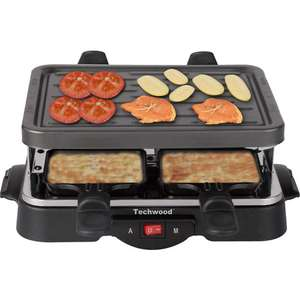 Raclette grill Techwood  TRA-44 (4 personnes)
