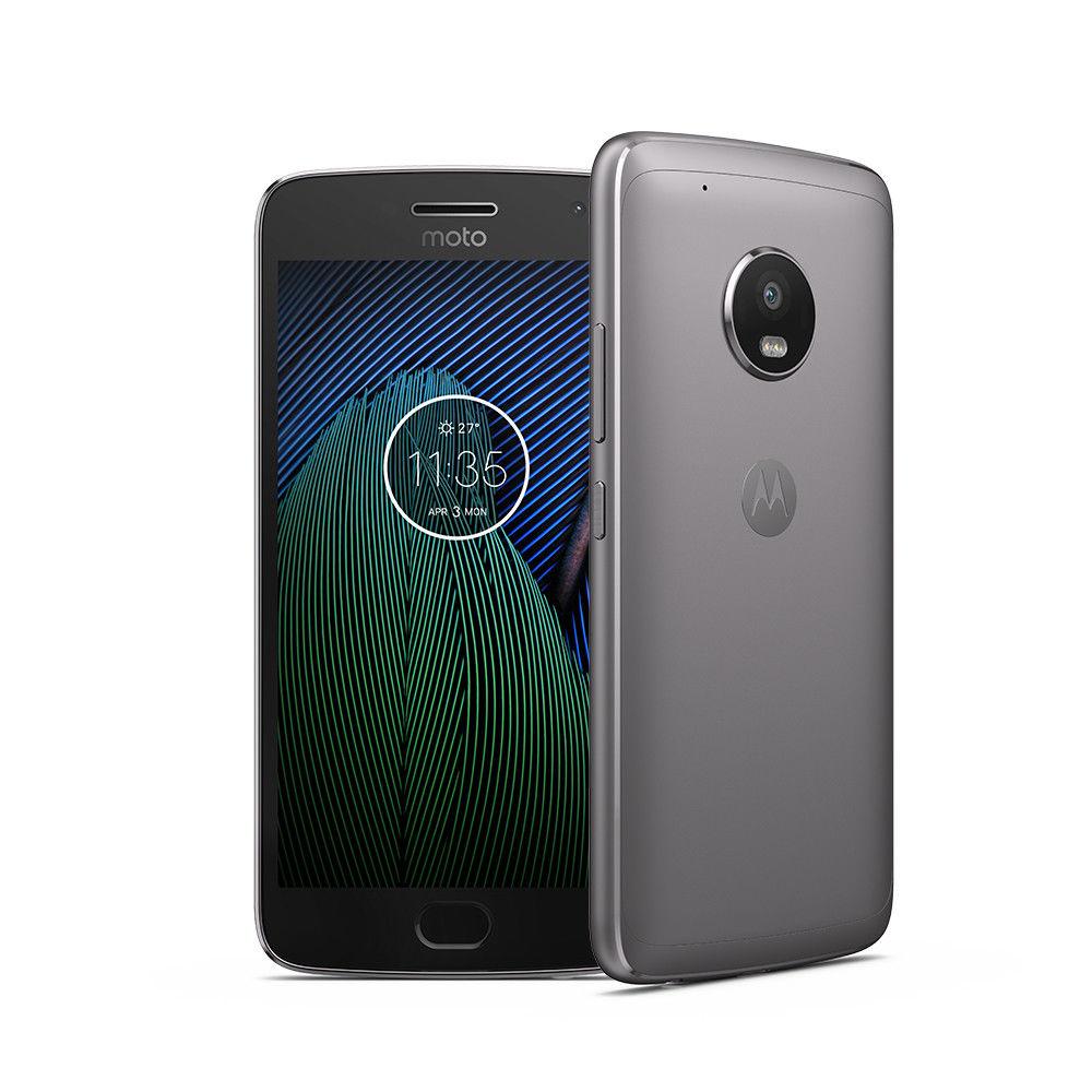 """Smartphone 5.2"""" Motorola Moto G5 Plus - 3 Go RAM, 32 Go, Dual SIM, Gris (159€ avec le code PROMO15)"""