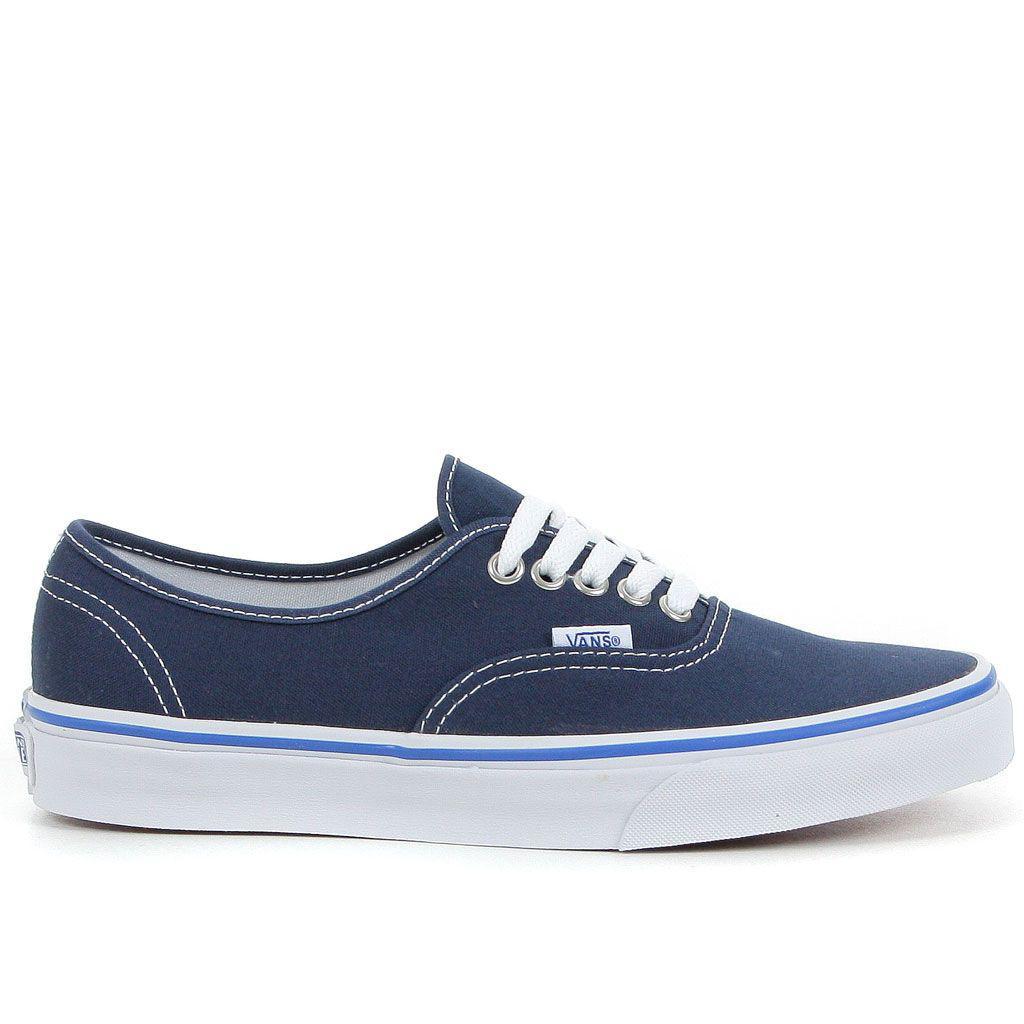 Basket Vans U Authentic - Bleu