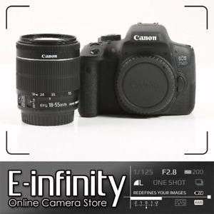Appareil photo Canon EOS 750D + Objectif EF-S 18-55mm (399,99€ avec le code PROMO15)