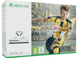 Pack console Xbox One S 500 Go  FIFA 2017 (Frontaliers Allemagne)