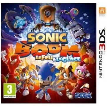 Jeu Sonic boom le feu et la glace sur 3DS