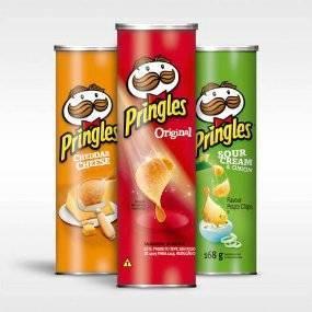 Lot de 2 Boites de Pringles (Variétés au choix) - Olonne-sur-Mer (85)