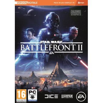 Jeu Star Wars Battlefront II sur PC