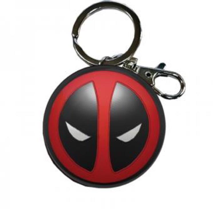 Porte clés métallique Deadpool