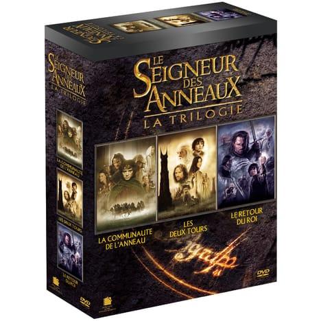 Coffret DVD : Trilogie Le Seigneur des Anneaux