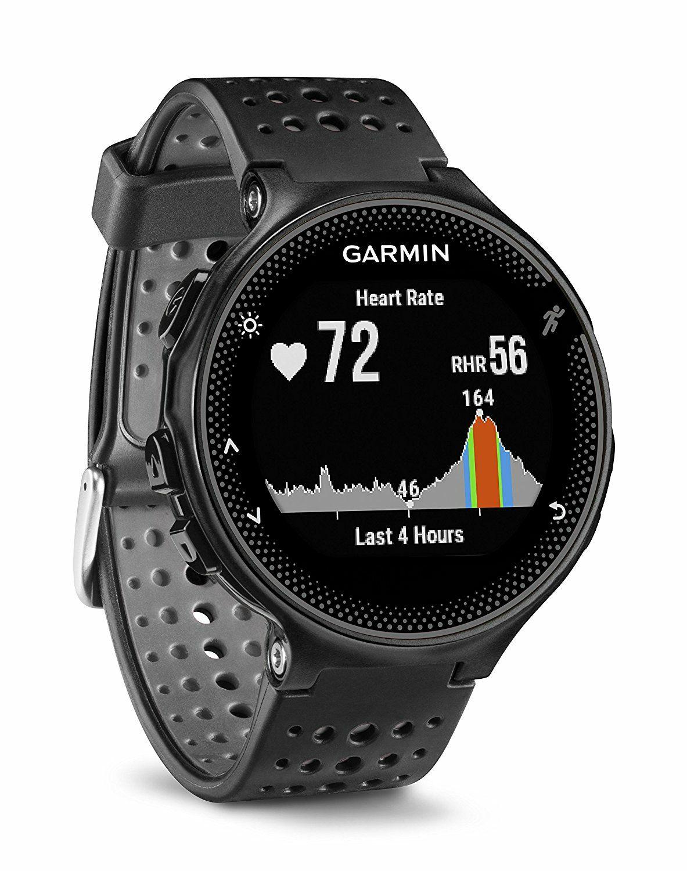 Montre de Running GPS Garmin Forerunner 235 avec Cardio au Poignet - Coloris au choix