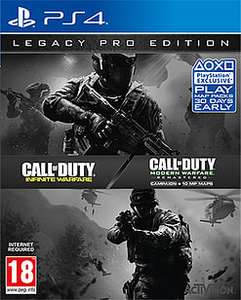 Call of Duty: Infinite Warfare - Legacy Pro Edition incluant Modern Warfare Remastered sur PS4