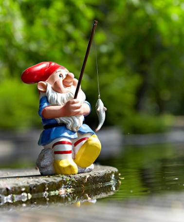 nain de jardin pêcheur offert pour toute commande