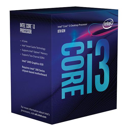 Processeur Intel Core i3-8100 Coffee Lake 3.60GHz - Socket LGA 1151