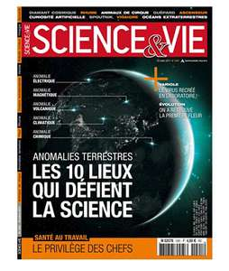Abonnement d'un an au magazine mensuel Science & Vie (Papier + Numérique)