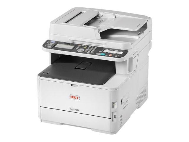 Imprimante A4 Multifonctions Couleur OKI MC363DN + 2 toners noirs offerts (Busiboutique)