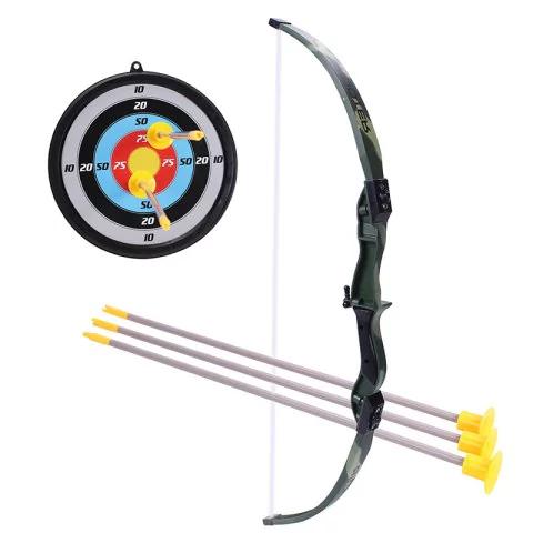 Kit tir à l'arc enfant (arc + cible + 3 flèches)