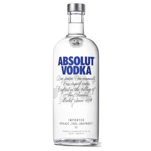 2 x 1L de Absolut Vodka (via 10€ en bon d'achat)