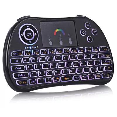 Mini clavier sans fil TZ p9 - RGB QWERTY