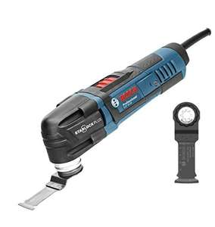 Bosch Professional GOP30-28 Outil multifonctions À Starlockplus avec lame bois/métal 300 W